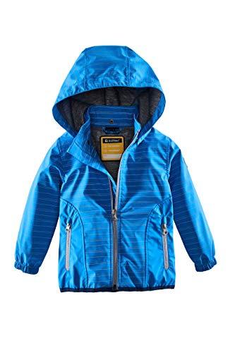 Killtec Jungen Laney Mini Softshell Jacke Mit Kapuze, Azur, 110/116