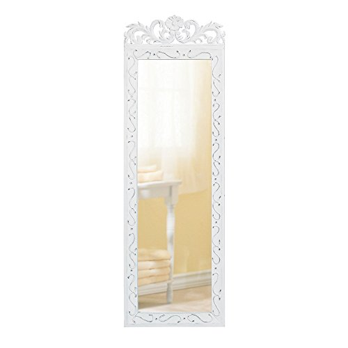 Aromzen Wall Mirrors Large, Elegant Bathroom Bedroom Antique Wall Decor Mirror - -