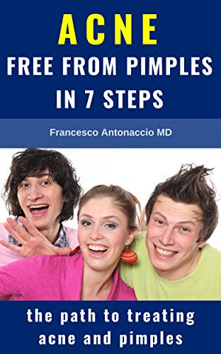 Book's Cover of ACNE free from pimples in 7 steps: the path to treating acne and pimples (English Edition) Versión Kindle