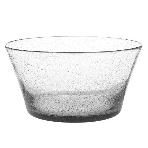 Table Passion - Saladier artisan bullé transparent