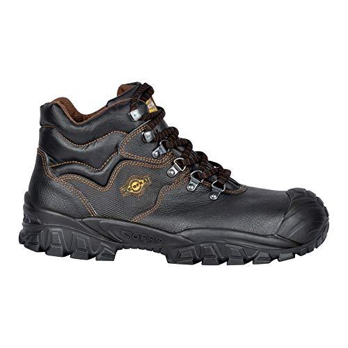 Cofra Sicherheitsstiefel S3 SRC New Reno UK Techno Sicherheitshochschuhe, schwarz, Leder, Größe 47, 40-NT210000-47