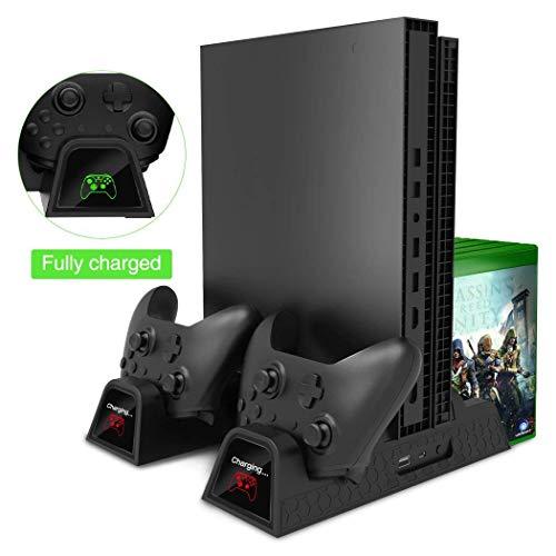 Xbox One / S / X Base Vertical Enfriadora Apoya Juegos