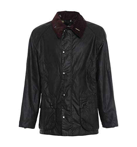 Barbour Giacca Cerata Verde Salvia Bedale Wax Jacket