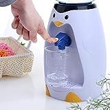 kemanner Dispenser per Acqua Mini Pinguino Carino da 2,5 Litri per Bambini Distributori e fontane d'Acqua