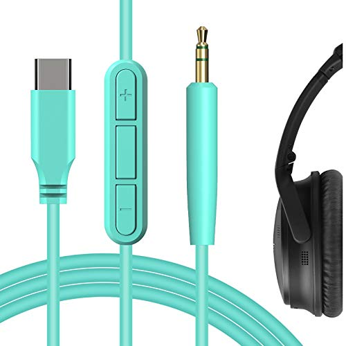 Geekria QuickFit Type C, USB-C Cable Replacement for Bose So