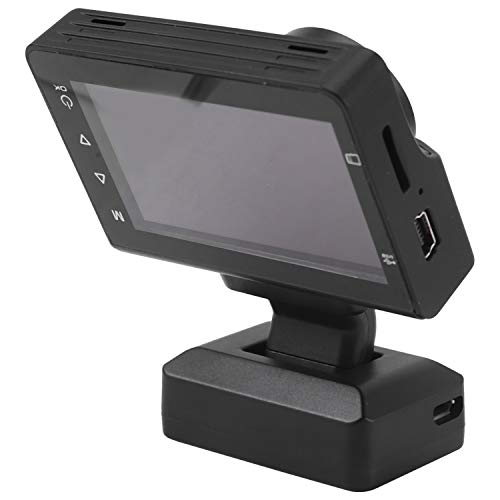 YanYun Dash Cam 1080P / 480P Fotocamera Anteriore e Posteriore per Auto Registratore di Guida...