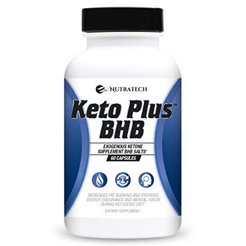 Keto Plus Weight Loss Pills Ketogenic Diet Supplement 60 Capsules BHB Salts for Deep Ketosis
