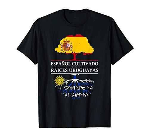 Español Cultivado con raíces Uruguayas - Uruguay Camiseta