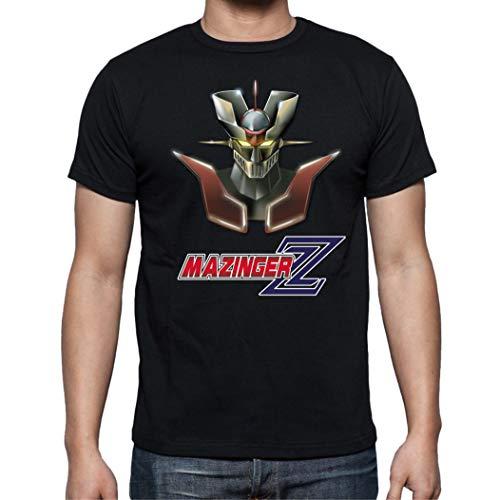 Camiseta de Hombre Mazinger Z Manga Anime Retro EGB 003 M