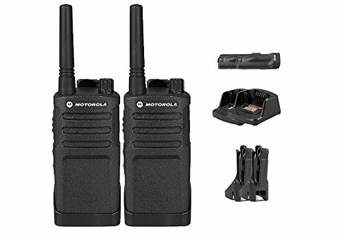 2 Pack of Motorola RMU2040 Business Two-Way Radio 2 Watts/4 Channels Military Spec 20 Floor Range