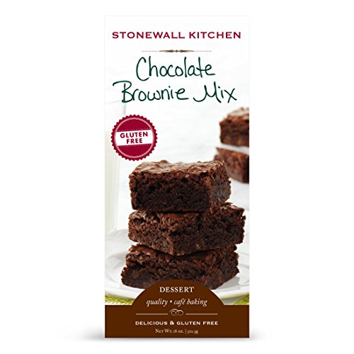 Stonewall Kitchen Gluten Free Chocolate Brownie Mix, 18 Ounce Box