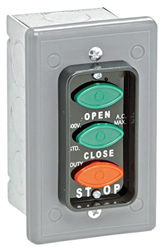 Find Bargain Control Station, 3 Oval Buttons, Nema 1