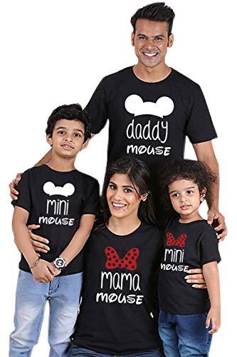 Camisetas Familiares Juego Mamá Papá Yo Moño Nudo Camisetas Jersey