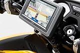 SW-MOTECH - Soporte de GPS QUICK-LOCK Negro. Amortiguador.