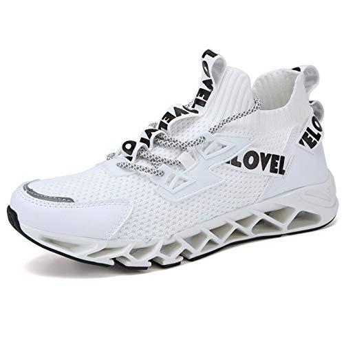 WateLves - Zapatillas de deporte para hombre y mujer, para correr, para caminar, correr, hacer deporte, trail, color, talla 44 EU