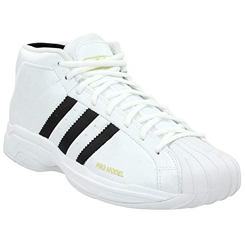 adidas Womens Pro Model 2G Basketball Sneakers Shoes Casual - Black - Size 7 M