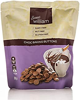 Sweet William Original Chocolate Baking Buttons 300 g