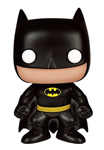 Funko BOBUGT936 - Figura de DC Comics Pop Vinilo 03 - Batman Black Ed - Clásico