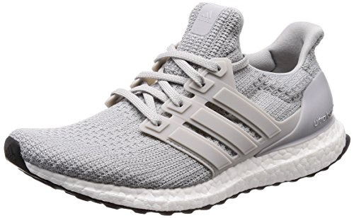 adidas UltraBOOST, Men's Running Shoes, Grey (Grey Three F17/Ftwr White), 9 UK (43 1/3 EU)