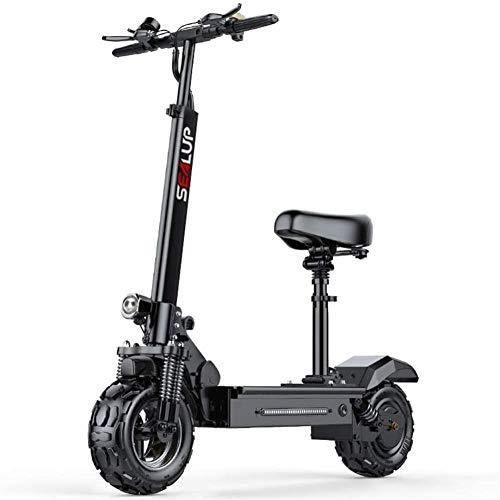 Plegable motocicleta eléctrica, el adulto de conducción, pequeño coche eléctrico, una pequeña...