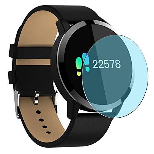 Vaxson 3 Stück Anti Blaulicht Schutzfolie, kompatibel mit OUKITEL W1 Smartwatch smart watch, Displayschutzfolie Anti Blue Light [nicht Panzerglas]