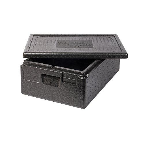 Thermo Future Box GN 1/1 Premium Thermobox Kühlbox, Transportbox Warmhaltebox und Isolierbox mit Deckel,30 Liter 60 x 40 Thermobox,Thermobox aus EPP (expandiertes Polypropylen)