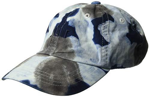 HUF Herren Spot Dyed 6 Panel HAT Mütze, weiß, Einheitsgröße