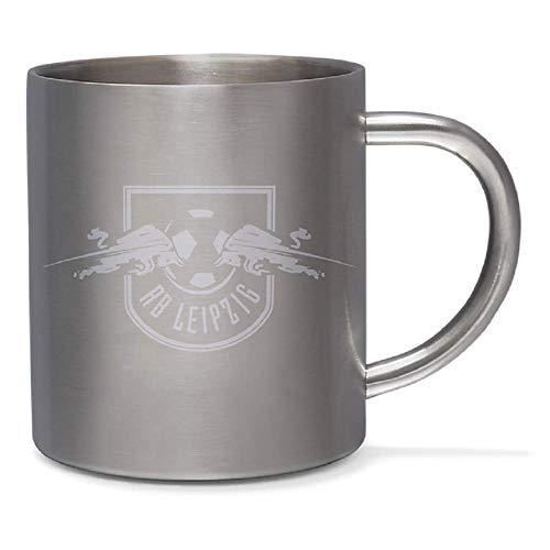 RB Leipzig Edelstahl Tasse (one Size, Silber)