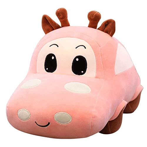 JYDQM Felpa de Coches de Juguete - Animales de Peluche de Juguete muñecas Juguetes de los niños Regalo de cumpleaños del Juguete del bebé Que Duerme Confort Almohada (Color : A, Size : 40cm)