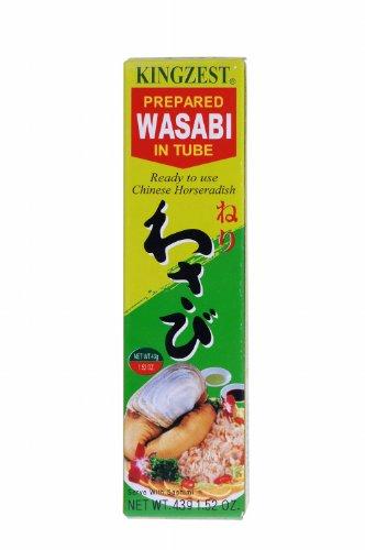 [ 10x 43g ] S&B Wasabi Paste Kren / Meerrettich Paste mit japanischem Wasabi