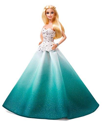 Barbie DGX98 - Bambola Barbie Magia delle Feste 2016 con Abito Turchese