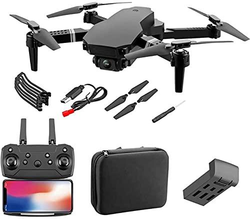 SCYMYBH Drone GPS WiFi 4K HD Cámara de Video en Vivo Drone para Principiantes, altitud Hold, Auto Retorno, Control de Gesto, Sígueme y Modo sin Cabeza (Color : 4K WiFi 1 Battery)