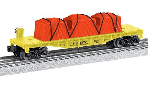Lionel Timken, Electric O Gauge Model Train Accessories, Made in the USA Flatcar