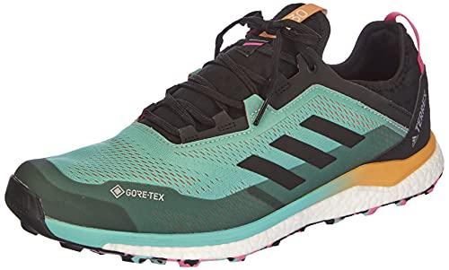 adidas Terrex Agravic Flow GTX, Zapatillas de Trail Running Hombre, MENACI/NEGBÁS/ROSCHI, 42 EU