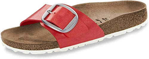 BIRKENSTOCK Damen Sandale Madrid Big Buckle Birko-Flor schmal