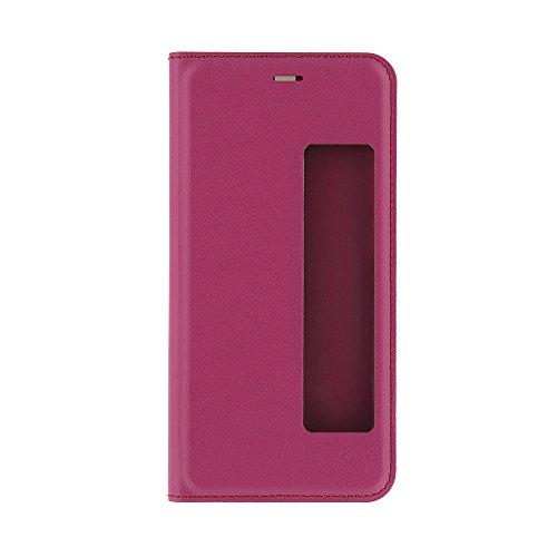 TELLUR TLL185091 Funda Inteligente con Ventana para Huawei P10, Rosado