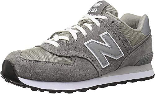 New Balance ML574 Sportschuhe für Herren, grau - grau - Größe: 40.5 EU