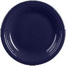 """Homer Laughlin 466105 Fiesta Cobalt Blue 10 1/2"""" Round China Dinner Plate - 12/Case"""