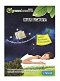 Breathe Green Mite Fighter | Herbal Dust Mite Treatment | All Natural Dust Mites Eliminator| No Harsh Chemicals | Repels Mites from Bedding, Couches, Carpet, Cushions | 2 Easy to Use Pouches (1-Pack)