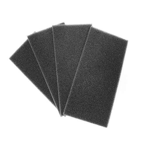 4 Stk. Ersatzfilter für LUNOS Typ eᶢᵒ, ego, Typ 9/FEGO-3R, Filterklasse G3, 039 998 - Filtereinsatz - Regenerierbare Filtermatte, e go - Filter