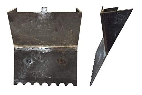 Ebeling Rückwand für Kamin -/ Heiz - Einsatz Kago Garanta 600-603