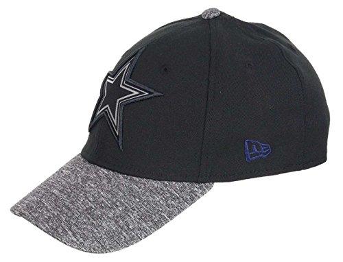 New Era Dallas Cowboys 39thirty Cap NFL Grey Collection Black/Grey - M - L