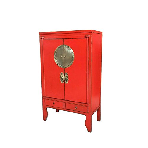 OPIUM OUTLET Armario Chino Boda Shabby-Chic Asiatico Vintage