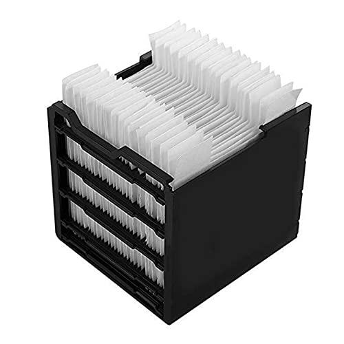 Ardorman Filtro Elemento del Filtro - 30 Compresse, Filtro di Ricambio del Radiatore dell'Aria Filtro di Ricambio per Mini Condizionatore d'Aria