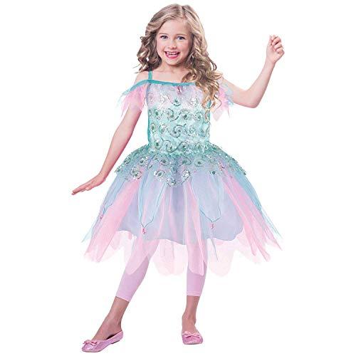 amscan Habillez Aqf6 Aqua Fairy Dress Up, filles, non Couleur unie, 6-8 ans - Version Anglaise