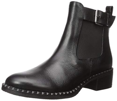 Gentle Souls by Kenneth Cole Women's Best Buckle Chelsea Boot, Black, 6 Medium US