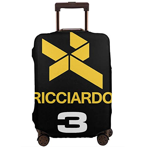 Luggage Cover F1 Daniel Ricciardo Travel Suitcase Protector Zipper Suitcase Cover Washable Fashion Printing Luggage Cover Zipper Travel Suitcase Protector