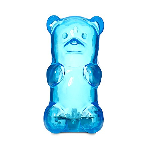 Gummygoods Squeezable Kids Night Light for Kids, Babies, Toddlers, Portable & Cordless, w/ 60 Min Sleep Timer, Blue