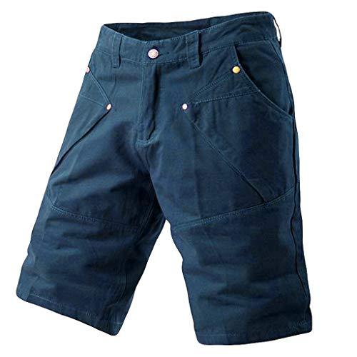 Pantalones Cortos para Hombres Verano Pantalones Deportivos Gimnasio Casual Deportes Jogging Pantalones Cortos De Cintura EláStica Pantalones Suave Moda CóModo Transpirable