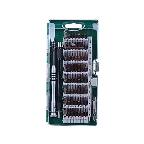 JUSTCHUN Destornillador de precisión Set 60 en 1 Torx Torx Destornillador Multifunción Tableta de teléfono Ordenador Personal Herramientas for Reparar Piezas de Herramientas (Color : Style C)